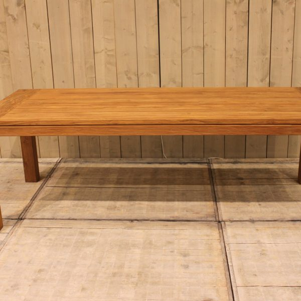 Cancun tafel 240x100 - natural teak 3